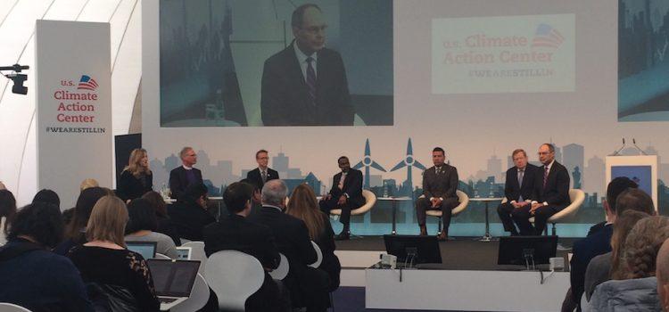 Los ciudadanos estadounidenses continúan en acción climática en la COP23