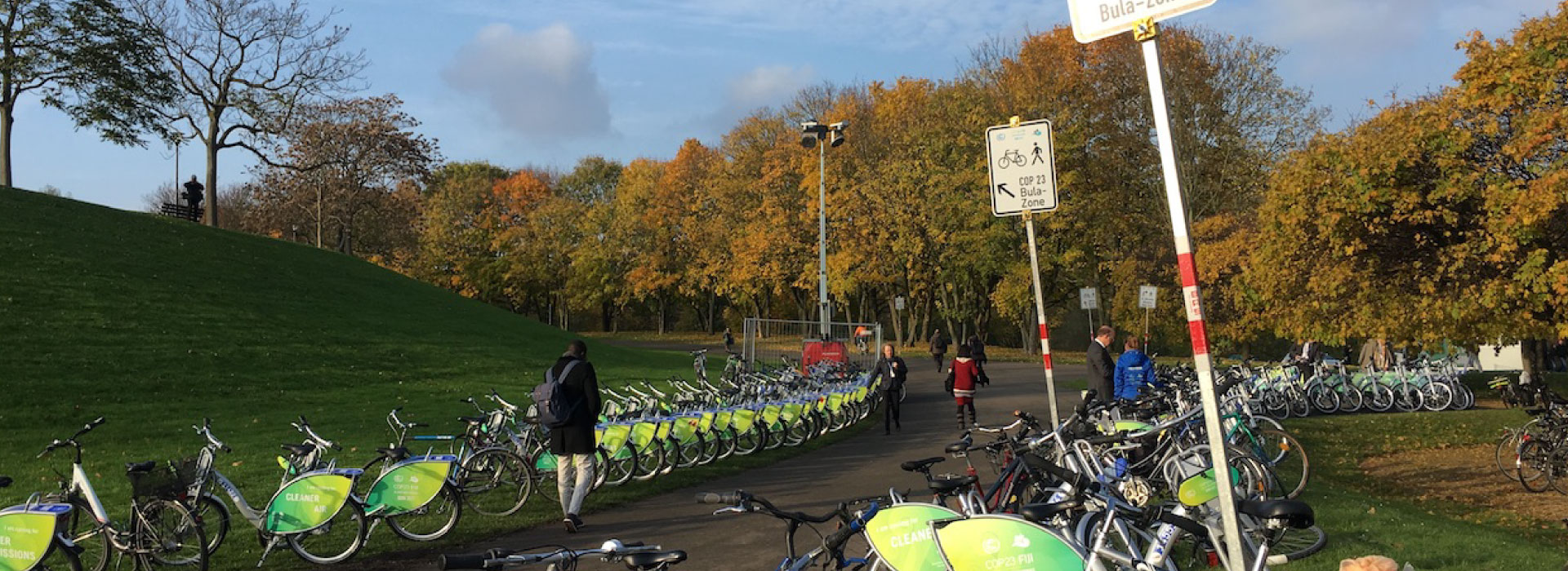 A reflection in Bonn during COP23: What change in lifestyle demands
