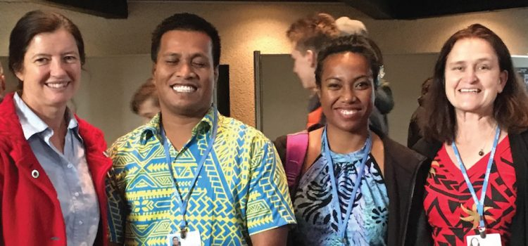 The Pacific calls for partnership: Paddling together with the small island states at COP23